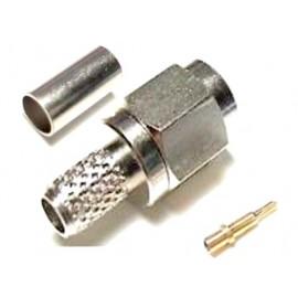 CONECTOR SMA MACHO RG-59 CRIMPAR