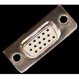 CONECTOR SUB-D 15P HEMBRA 3 FILAS