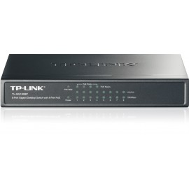 SWITCH 8 PUERTOS GIGABIT 4 PoE TP-LINK