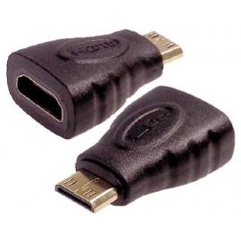 ADAPTADOR MINI HDMI MACHO A HDMI HEMBRA DCU