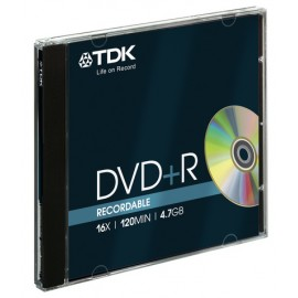 DISCO DVD  R 4,7GB TDK