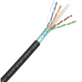 CABLE RED FTP CAT6 PE EXTERIOR DCUTEC