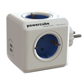 POWERCUBE ORIGINAL AZUL 2xUSB ALLOCACOC