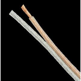 CABLE ALTAVOZ PARALELO TRANSPARENTE OFC 2x0.75 mm2 DCUTEC