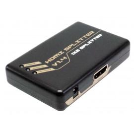 DISTRIBUIDOR HDMI 1 entrada x 2 salidas  DCU