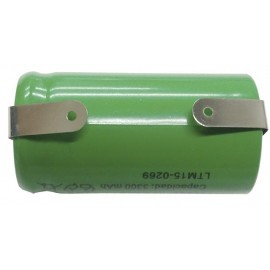 ACUMULADOR Ni-MH 1,2V 3300 mA/h 42 x 22,1mm SOLDABLE