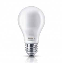 BOMBILLA LED ESFÉRICA E27 5W 220V 2700K PHILIPS PACK 2u