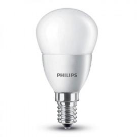 BOMBILLA LED ESFÉRICA E14 P45 5,5W 220V 2700K PHILIPS