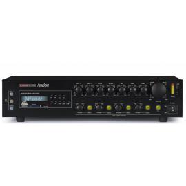 AMPLIFICADOR PA 120W RMS 4 ZONAS USB FONESTAR