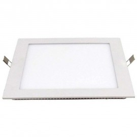 DOWNLIGHT LED EMP CUADRADO 220V 30W 6000K ALVER