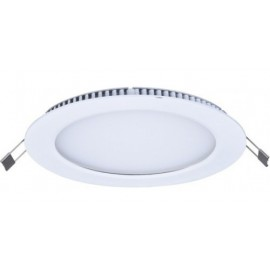 DOWNLIGHT LED EMP REDONDO 220V 12W 6000K ALVER