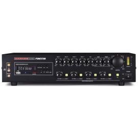 AMPLIFICADOR LINEA 100V 240W 4 ZONES USB FONESTAR