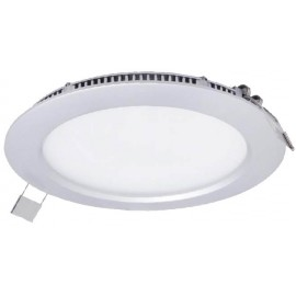 DOWNLIGHT LED PLANO 220V 20W 4000K  ALUMINIO ALVER