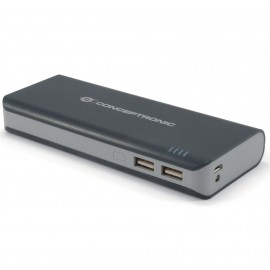 POWER BANK 12500mA LINTERNA LED CONCEPTRONIC