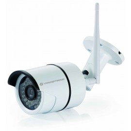 CAMARA CCTV IP 1080P WIFI QR CLOUD CONCEPTRONIC