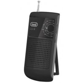 RADIO AM/FM PORTÁTIL CON SOPORTE NEGRO TREVI
