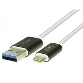 CONEXIÓN USB A MACHO- USB C MACHO 1,5m DCU