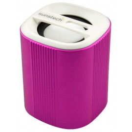 ALTAVOZ BLUETOOTH MANOS LIBRES ROSA SUNSTECH
