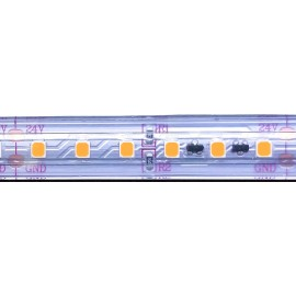 TIRA LED 24VDC BLANCO MUY CÁLIDO 96W IP-68 FULLWAT