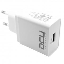 CARGADOR USB 5V 2,4A 1xUSB DCU