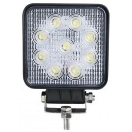 FOCO LED CUADRADO 10-30V 27W 9 LEDS IFC