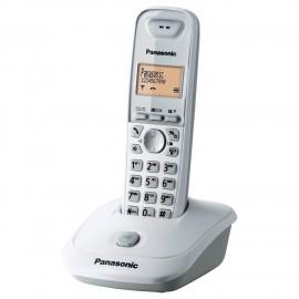 TELÉFONO INALÁMBRICO BLANCO PANASONIC