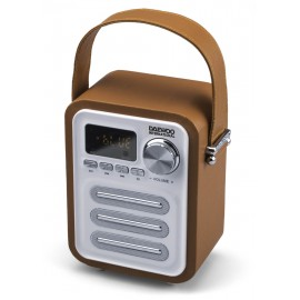 ALTAVOZ BT RETRO CON RADIO ORANGE DAEWOO