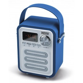 ALTAVOZ BT RETRO CON RADIO BLUE DAEWOO