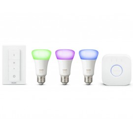 PHILIPS HUE STARTER KIT E27 16M COLORES