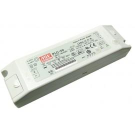 FUENTE LED 12V 2,5A 30W TORNILLO MW
