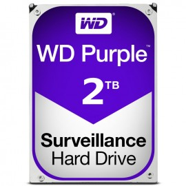 DISCO DURO INTERNO SATA 2TB WESTERN DIGITAL PURPLE