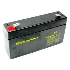 BATERÍA PLOMO 6V 1.2A  97 x 25 x 58 mm
