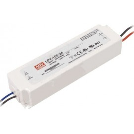 FUENTE LED 12V 2,91A 35W IP-67 MW