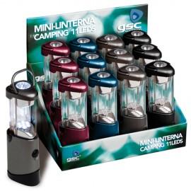 LINTERNA CAMPING 7+4 LEDS GSC