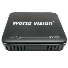 RECEPTOR ANDROID TV BOX WORLD VISION Nº