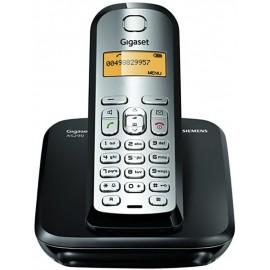 TELÉFONO INALÁMBRICO DECT NEGRO/SILVER GIGASET