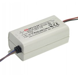 FUENTE LED 12V 12W 1A IP-42 MW