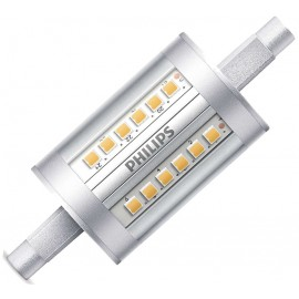 LÁMPARA LINEAL LED R7S 78mm BLANCO 7,5W PHILIPS