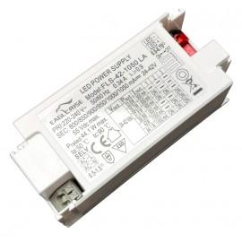 FUENTE LED 2-42Vdc 500-750mA 31,5W PFC EAGLERISE