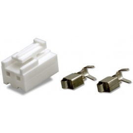 CONECTOR HEMBRA 2 PINES 4,0mm
