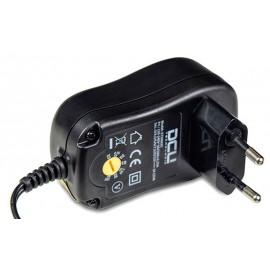 ALIMENTADOR VARIABLE 3 a 12Vcc 12W 8 CONECTORES + USB DCU