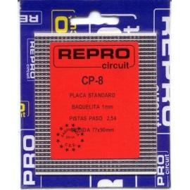 PLACA C.I PISTAS BAQUELITA 77x90 mm REPRO