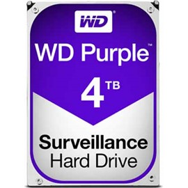 DISCO DURO INTERNO SATA 4TB WESTERN DIGITAL PURPLE