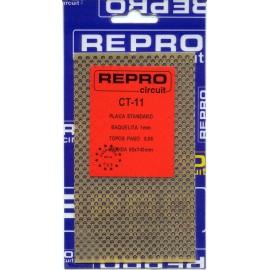 PLACA C.I TOPOS BAQUELITA 80x140 mm REPRO