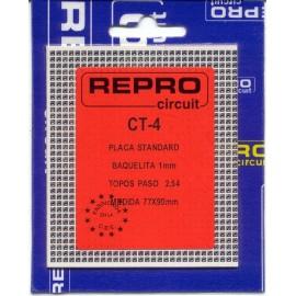 PLACA C.I TOPOS BAQUELITA 77x90 mm REPRO