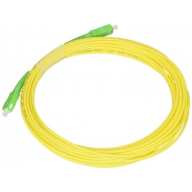 Conexión fibra óptica single mode 9/125 15M