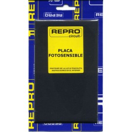 PLACA C.I POSITIVA BAQUELITA 144x260 mm REPRO