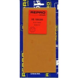 PLACA C.I VÍRGEN FIBRA 80x120 mm REPRO