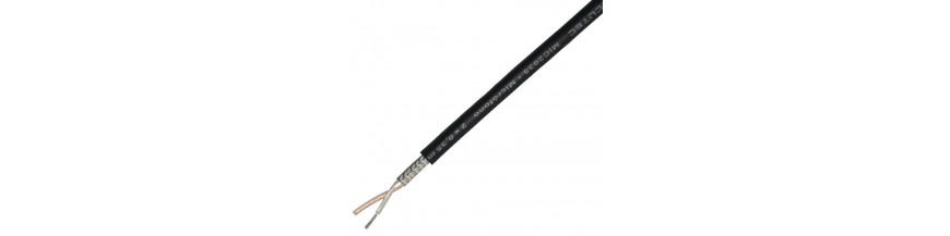 Cable señal apantallado