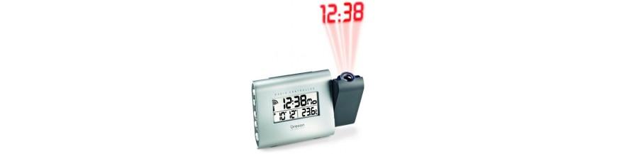 Reloj proyección